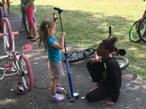 Bicycle Repair Clinic July2016