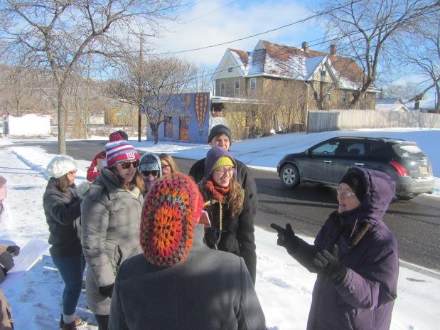 Neighborhood Exploration Walking Tour Spring2015