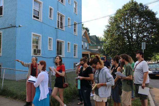 Neighborhood Exploration Walking Tour Fall 2015