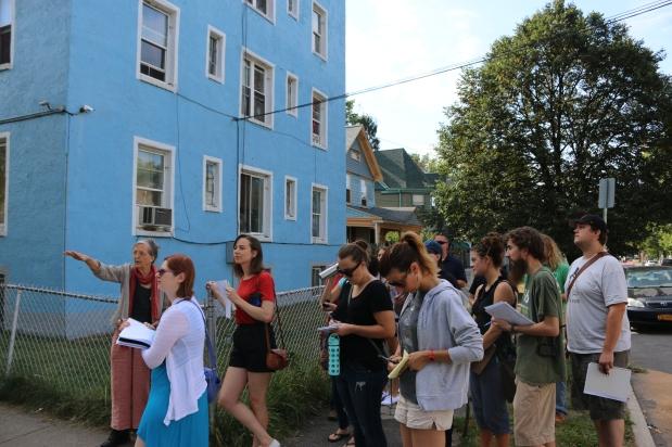 Neighborhood Exploration Walking Tour Fall2015