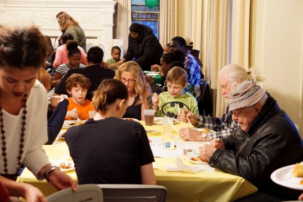 Community Meal at theMansion