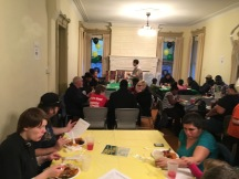 community center, welcome dinner